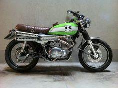 Kawasaki z400 anno 1975 scrambler