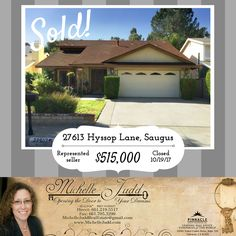 And we are SOLD! Whether you're looking to buy, or sell, I'm happy to help you with all your real estate needs! Want a FREE market evaluation of your home? Give me a call at (661) 219-5517!  #SOLD #realestate #realty #realtor #lookingtomove