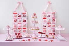 Perfect for Valentine's Day Dessert Table