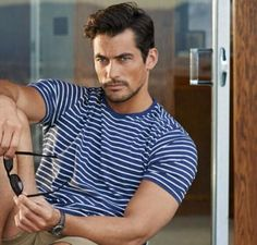David Gandy for M&S Summer 2014 Campaign. Ph: Tomo Brejc