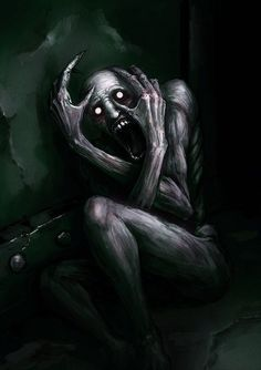 Read Shy guy from the story SCP 096 by x_kat_chan_x (that bitch everyone hates) with 519 reads. scp, fanfiction, I remember it like yesterday all beca. Scary Drawings, Dark Art Drawings, Demon Art, Monster Art, Creepy Monster, Art Sombre, Art Vampire, Creepy Tattoos, Satanic Art