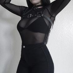 Gothic Fashion, Alternative Clothing Store, Pastel Gothic, Grunge, Punk R … - Popular Edgy Outfits, Mode Outfits, Grunge Outfits, Girl Outfits, Fashion Outfits, Flannel Outfits, Fashion Ideas, Fashion Trends, Dark Fashion