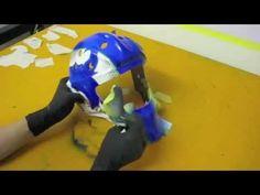 """Goalie Mask Airbrush by INFECT HOCKEY  """"Reiti Taurus 2014"""""""