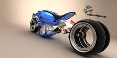 Concept Motorcycles, Cool Motorcycles, Digital Art Gallery, Chopper Bike, Old Bikes, Motorcycle Design, Custom Bikes, Cool Pictures, Bicycle