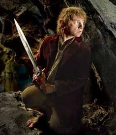 Sting was a magical weapon used by Bilbo Baggins in The Hobbit. Bilbo found it in a troll-hoard along with the swords Glamdring and Orcrist. Sting was likely forged by the elves of Gondolin in the. The Hobbit Movies, O Hobbit, Fellowship Of The Ring, Lord Of The Rings, Martin Freeman, Lotr, Hobbit Pictures, Science Fiction, The Misty Mountains Cold