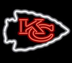 Kansas City Chiefs Neon Sign NFL Team Logo Football Fan Man Cave Sport Light #KansasCityChiefs