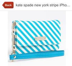 Kate spade iPhone wristlet. Need! http://m.nordstrom.com/Product/Gallery/3321218?origin=product