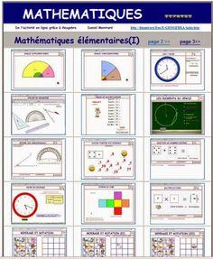 Colección de Applets de GeoGebra I Primaria Ihttp://dmentrard.free.fr/GEOGEBRA/Maths/Elementaire/Elementaire.htm