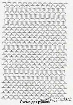 Esquema Crochet bolero