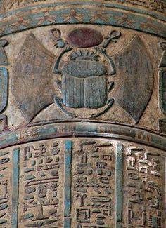 Fabulous columns of Temple of Khnum, Esna, Egypt