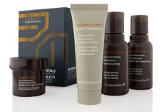 Aveda Men Grooming Essentials Kit ($38, aveda.com) #holidaygiftsformen #giftsformen