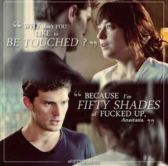 "FSoG https://www.pinterest.com/lilyslibrary/ Ana and Christian ""Fifty Shades of…"