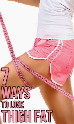 7 Ways to Lose Inner Thigh Fat