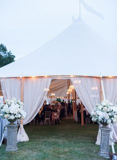 Glamorous Tent Wedding entrance_Leila Brewster Photography
