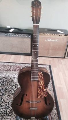 1940 Kay Archtop, Rare SOLID SPRUCE TOP!!