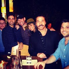 Entourage cast celebrates together on the heels of the announcement that their show will be made into a movie!
