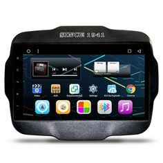 "9"" Android Autoradio Head Unit Car Stereo Multimedia GPS Navigation DVD Radio Audio for Jeep Renegade 2015 2016 2017"