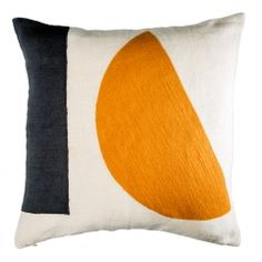 Modernist Shapes Cushion Cover Tan