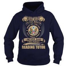 Reading Tutor - Job Title, Order HERE ==> https://www.sunfrog.com/Jobs/Reading-Tutor--Job-Title-101937327-Navy-Blue-Hoodie.html?41088