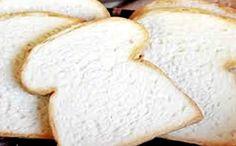 Receita de pão branco para a fase cruzeiro PP da dieta dukan.