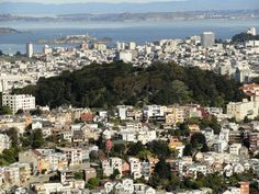 City of San Francisco from Twin Peaks.  You can see Alcatraz in the bay.