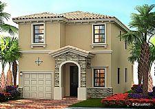 Condomínio Aventura Isles  - Casas em Miami de 3 a 4 dormitórios em condomínio com toda infra-estrutura e impecável paisagismo - unidades a partir de USD 263 mil