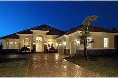 House Plan 1018-00054 - Mediterranean Plan: 3,089 Square Feet, 3-4 Bedrooms, 3 Bathrooms