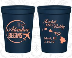 Personalized Cups, Wedding Cup, Wedding Cups, Personalized Plastic Cups, Stadium Cups, Party Cups, Plastic Cups (278)