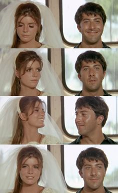 One of the best scenes in cinematic history….The Graduate (1967) Mike Nichols iconic movie of the New Hollywood Wave of the 60's..