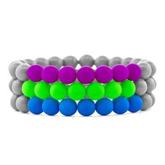 Neon Your Way Bracelets | Fusion Beads Inspiration Gallery