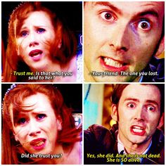 Rose and the doctor are my OTP and I cry EVERY SINGLE TIME I watch journeys end and doomsday.