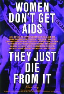 The art collective, Gran Fury installed this poster in hundreds of bus shelters throughout New York City in Declaring women as central to the AIDS crisis, the bold text demands legislators take. Hiv Facts, Miss You Text, Aids Awareness, Hiv Positive, World Aids Day, Art Fund, Creators Project, Public Information, Museum Of Contemporary Art