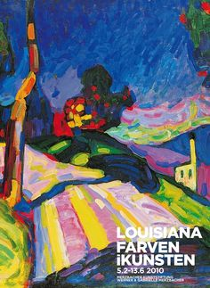 #louisianamuseum #colourinart #painting #poster #vangogh #blue