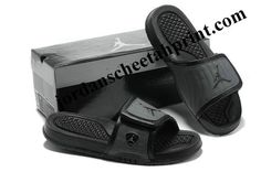 d41b50c06e80 Cheap Air Jordans 14 Massage Slippers Black Jordan 14
