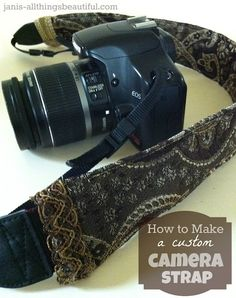 How to Make a Camera Strap