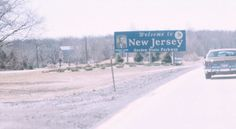1. Welcome to New Jersey! The Garden State Parkway near Montvale in 1977.