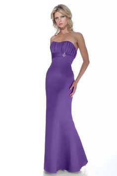Satin A-line,Ruching,Strapless Style 2944 Bridesmaid Dress by Alexia Designs