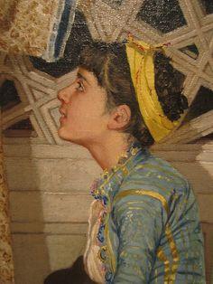 Osman Hamdi Bey (Turkish: 1842–1910) - İki Müzisyen Kız
