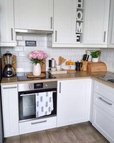 Kitchen Room Design, Interior Design Kitchen, Kitchen Decor, Home Decor Furniture, Home Decor Bedroom, Kitchen Modular, Diy Kitchen Storage, Apartment Kitchen, Küchen Design