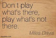 miles davis quote - Google Search