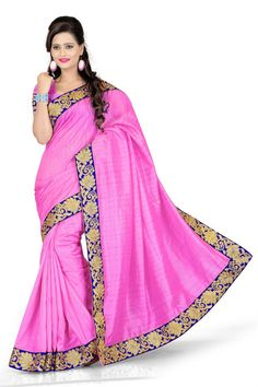 This designer saree is an excellent choice to wear for weekend parties and casual gatherings.