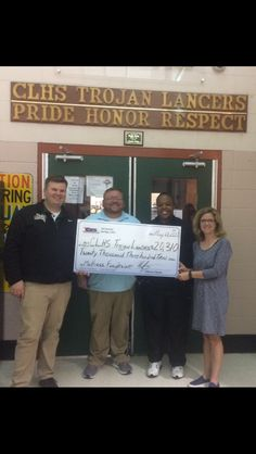 Central Lafourche High School raised $20,310 at their Mattress Fundraiser with CFS Louisiana