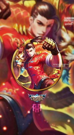 Wallpaper Phone Chou Dragon Boy by FachriFHR on DeviantArt Mobile Wallpaper Android, Phone Wallpaper For Men, Mobile Legend Wallpaper, Hero Wallpaper, Walpaper Phone, Galaxy Wallpaper, Screen Wallpaper, Bruno Mobile Legends, Miya Mobile Legends