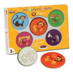 Giant Safari Stamps-product