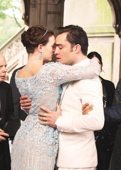 Blair and chuck Blair Waldorf gossip girl serena van der woodsen