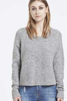 Cashmere Cardigan :: Boyfriend Fit Sweater :: Luxury