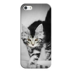 iPhone 7 Plus/7/6 Plus/6/5/5s/5c Case - Kitty Cat (150 RON) ❤ liked on Polyvore featuring accessories, tech accessories, iphone case, iphone cover case, slim iphone case, iphone cases, apple iphone case and cat iphone case