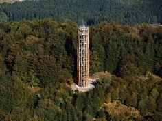 Lookout Tower, Czech Republic, Golden Gate Bridge, Arches, Pisa, Architecture, Building, Nature, Travelling