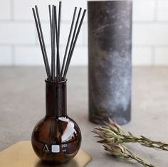 This beautiful reed diffuser is both stylish and unique! The black glass sets off any home decor and you will be absolutely blown away by the beautiful scents this beauty comes in!  Once again, the Alchemy Produx packaging sets this product's value through the roof with gold foil designer finishes. You will most likely feel the need to keep the packaging and reuse this beautiful glass canister way after your diffuser is used up.  Made in Australia.  Dimensions: 26.5 x 10cm, (200ml)