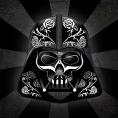 dia de los muertos darth vader!!!